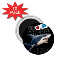 The Shark Movie 1 75  Magnets (10 Pack)  by Valentinaart