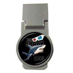 The Shark Movie Money Clips (round)  by Valentinaart