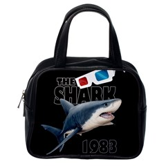 The Shark Movie Classic Handbags (one Side) by Valentinaart