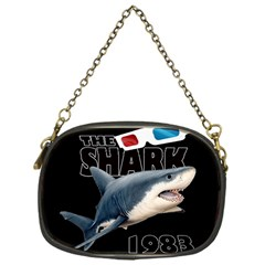 The Shark Movie Chain Purses (one Side)  by Valentinaart