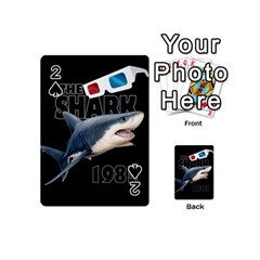 The Shark Movie Playing Cards 54 (mini)  by Valentinaart