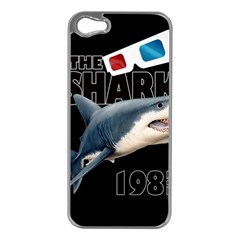 The Shark Movie Apple Iphone 5 Case (silver) by Valentinaart