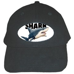 The Shark Movie Black Cap by Valentinaart