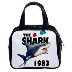 The Shark Movie Classic Handbags (2 Sides) by Valentinaart