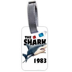 The Shark Movie Luggage Tags (two Sides) by Valentinaart