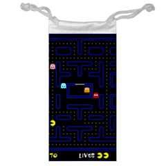 Pac Man Jewelry Bag by Valentinaart
