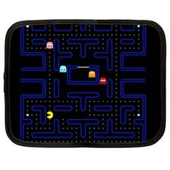 Pac Man Netbook Case (xxl)  by Valentinaart