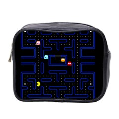 Pac Man Mini Toiletries Bag 2 Side by Valentinaart