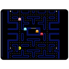 Pac Man Fleece Blanket (large)