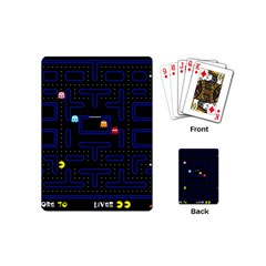 Pac Man Playing Cards (mini)  by Valentinaart