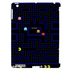 Pac Man Apple Ipad 3/4 Hardshell Case (compatible With Smart Cover) by Valentinaart