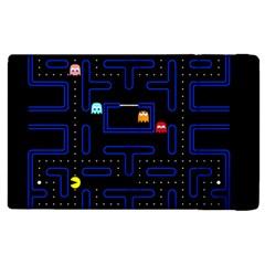 Pac Man Apple Ipad 2 Flip Case by Valentinaart