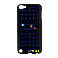Pac Man Apple Ipod Touch 5 Case (black) by Valentinaart