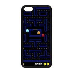 Pac Man Apple Iphone 5c Seamless Case (black) by Valentinaart