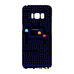 Pac Man Samsung Galaxy S8 Hardshell Case  by Valentinaart