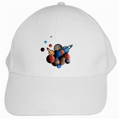 Planets  White Cap by Valentinaart