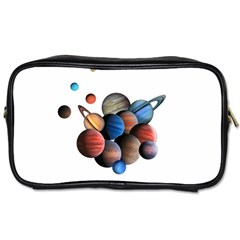 Planets  Toiletries Bags 2 Side by Valentinaart