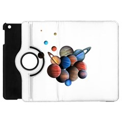 Planets  Apple Ipad Mini Flip 360 Case by Valentinaart