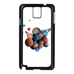 Planets  Samsung Galaxy Note 3 N9005 Case (black) by Valentinaart