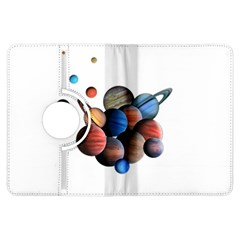 Planets  Kindle Fire Hdx Flip 360 Case by Valentinaart