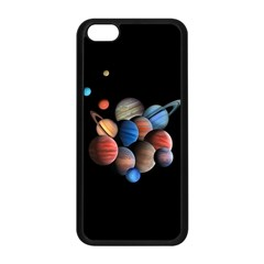 Planets  Apple Iphone 5c Seamless Case (black) by Valentinaart