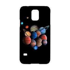 Planets  Samsung Galaxy S5 Hardshell Case  by Valentinaart