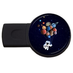Planets  Usb Flash Drive Round (2 Gb) by Valentinaart