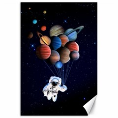 Planets  Canvas 20  X 30   by Valentinaart