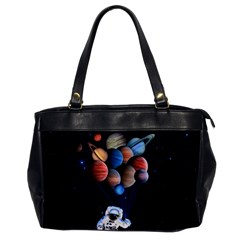 Planets  Office Handbags by Valentinaart