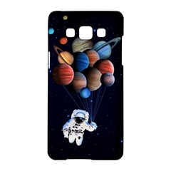 Planets  Samsung Galaxy A5 Hardshell Case  by Valentinaart