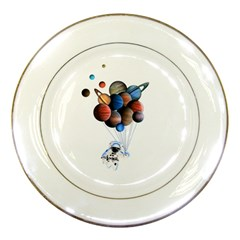 Planets  Porcelain Plates by Valentinaart