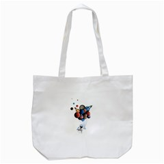 Planets  Tote Bag (white) by Valentinaart