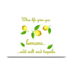 When Life Gives You Lemons Plate Mats by Valentinaart