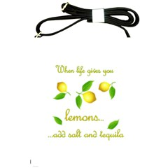 When Life Gives You Lemons Shoulder Sling Bags by Valentinaart