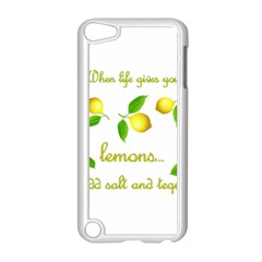 When Life Gives You Lemons Apple Ipod Touch 5 Case (white) by Valentinaart