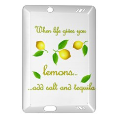 When Life Gives You Lemons Amazon Kindle Fire Hd (2013) Hardshell Case by Valentinaart