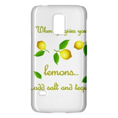 When Life Gives You Lemons Galaxy S5 Mini by Valentinaart
