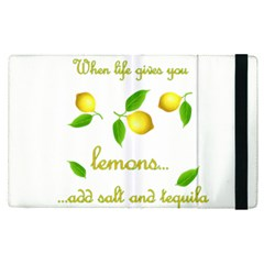 When Life Gives You Lemons Apple Ipad Pro 12 9   Flip Case by Valentinaart