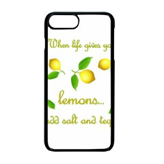 When Life Gives You Lemons Apple Iphone 7 Plus Seamless Case (black) by Valentinaart