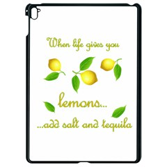 When Life Gives You Lemons Apple Ipad Pro 9 7   Black Seamless Case by Valentinaart