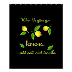 When Life Gives You Lemons Shower Curtain 60  X 72  (medium)  by Valentinaart
