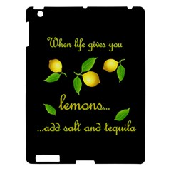 When Life Gives You Lemons Apple Ipad 3/4 Hardshell Case by Valentinaart