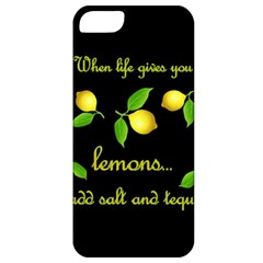 When Life Gives You Lemons Apple Iphone 5 Classic Hardshell Case by Valentinaart