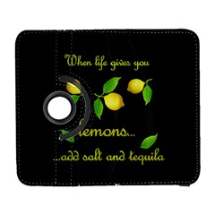When Life Gives You Lemons Galaxy S3 (flip/folio) by Valentinaart