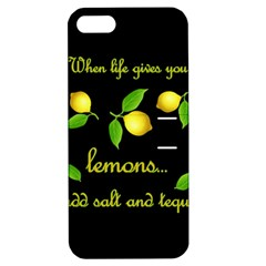 When Life Gives You Lemons Apple Iphone 5 Hardshell Case With Stand by Valentinaart