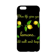 When Life Gives You Lemons Apple Iphone 6/6s Hardshell Case by Valentinaart
