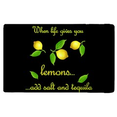 When Life Gives You Lemons Apple Ipad Pro 9 7   Flip Case by Valentinaart
