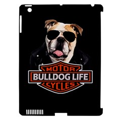 Bulldog Biker Apple Ipad 3/4 Hardshell Case (compatible With Smart Cover) by Valentinaart