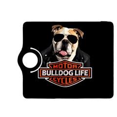 Bulldog Biker Kindle Fire Hdx 8 9  Flip 360 Case by Valentinaart