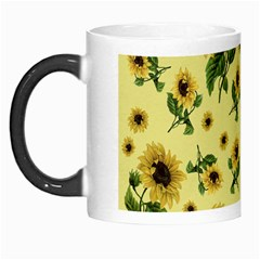 Sunflowers Pattern Morph Mugs by Valentinaart